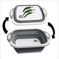 Thớt Nhựa Đa Năng 3 in 1 Kiêm Chậu Rửa,Rổ Đa Năng,Thớt Siêu Tiện Dụng thumbnail