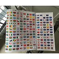 Bộ Quốc Kỳ Các Nước Trên Thế Giới và Cờ 50 Tiểu Bang của Mỹ PASA COLLECTION ( 295 cờ ) , răng cưa, xé dễ dàng - Hàng nhập khẩu thumbnail