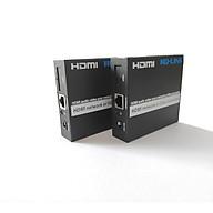 Bộ kéo dài HDMI 120m qua cáp mạng lan Ho-link HL-HDMI-120T R (2 thiết bị) - Hàng Chính Hãng thumbnail
