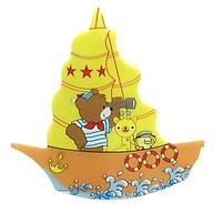 Đèn Ngủ Thuyền Hình Gấu Thủy Thủ - Màu Vàng thumbnail