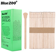 BlueZOO 200Pcs Pack 2-in-1 Face Skin Hair Remover Wax Stick Nose Hair Beauty Tools Nose Cleaning Tool thumbnail
