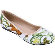 Giày Búp Bê Nữ Mozy MZBB46 - Trắng thumbnail