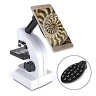 Bộ kính hiển vi chuyên dụng 640X dùng để nghiên cứu, làm thực hành đa năng có đèn trợ sáng cao cấp- Hàng nhập khẩu (Tặng quạt nhựa mini cắm cổng USB-giao màu ngẫu nhiên) thumbnail