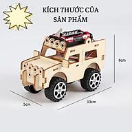 Đồ chơi khoa học tự làm xe tải bằng gỗ, kích thích sáng tạo và phát triển trí tuệ cho bé thumbnail