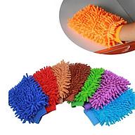 Găng tay rửa xe ô tô san hô siêu mềm mịn tiện dụng thumbnail