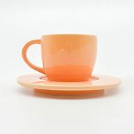 Bộ Ly Cà-Phê Morning 02 + Dĩa Lót - Màu Pastel thumbnail