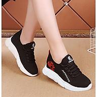 Giầy sneaker nữ buộc dây V201 thumbnail