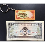 Tiền Xưa Việt Nam 2 Đồng 1980 Thời Bao Cấp+Tặng Kèm Móc Khóa Hình Tờ Tiền Con Cọp thumbnail
