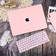Case ốp nhựa cho Macbook chống nước chống xước màu hồng pastel siêu đẹp - Hàng chính hãng thumbnail
