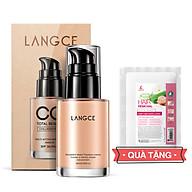 CC Cream Trang Điểm Collagen Đẹp Da Chống Nắng 30ml TẶNG Kem Làm Rụng Lông Trắng Da 20ml LANGCE thumbnail