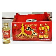 Thực phẩm bổ sung-Nước uống ngâm củ sâm Hàn Quốc 10 chai x 120ml thumbnail