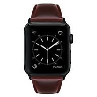Dây Da Phong Cách Retro Cho Đồng Hồ Thông Minh Apple Watch Dòng 3 2 1 (42mm 38mm) thumbnail