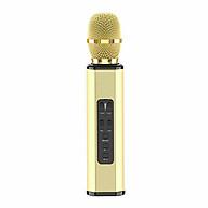 Micro Karaoke Bluetooth Không Dây âm thanh trung thực tuyệt vời cho điện thoại thông minh - Hàng Chính Hãng thumbnail