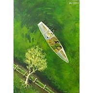 Tranh sơn dầu sáng tác LƯỚT QUA MÙA HẠ thumbnail
