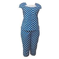 Đồ mặc nhà Bộ lửng ngắn tay nữ Tvm Luxury Homewear B205 thumbnail