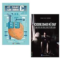 Combo Lập Trình Đỉnh Cao Giáo Trình Kỹ Thuật Lập Trình C Căn Bản Và Nâng Cao + Code Dạo Kí Sự - Lập Trình Viên Đâu Phải Chỉ Biết Code Những Cuốn Sách Gối Đầu Của Những Nhà Lập Trình BậcNhất Thế Giới thumbnail