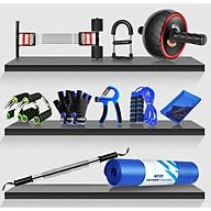 Bộ dụng cụ tập Gym Fullbox đầy đủ 10 món - Tập thể dục, thể hình tay chân bụng thumbnail