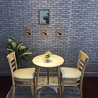 bộ bàn cafe ghế cabin thumbnail