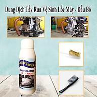 100ML - Dung Dịch Tẩy Rửa Vệ Sinh Lốc Máy Đầu Bò Cực Mạnh - Tặng 1 bàn chải sợi đồng + 1 bàn chải BOSSI thumbnail