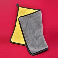 Khăn Lau Xe 2 Màu Dày Lông Mịn Chống Trầy Xước (32cm x 25cm) - Màu Ngẫu Nhiên thumbnail