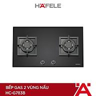 Bếp Gas 2 Vùng Nấu Hafele HC-G783B - 533.02.849 (Hàng chính hãng) thumbnail