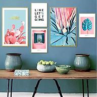 Tranh treo tường, tranh canvas TB47 bộ 5 tấm thumbnail