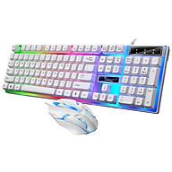Bộ bàn phím và chuột G21B game led màu trắng thumbnail
