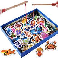 Đồ chơi câu cá gỗ 32 chi tiết thumbnail