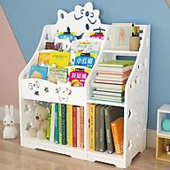 Kệ sách trẻ em họa tiết Hello Kitty thiết kế nhiều ngăn, tiện ích TXT-15 thumbnail