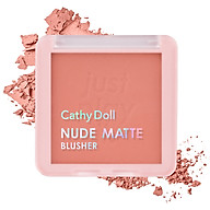Phấn má hồng Cathy Doll Nude Matte Blusher 6g thumbnail