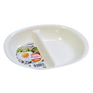 Khay Ăn Chia 2 Ngăn Cho Bé - Nội Địa Nhật Bản thumbnail