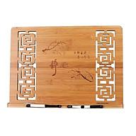 Kệ Tụng Kinh Bằng Tre, mẫu đục thủng loại để trên bàn ( có nhiều kích thước) - BH113 thumbnail
