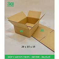 BỘ 20 HỘP CARTON TRƠN 20x15x15 - 3HNT0501 thumbnail