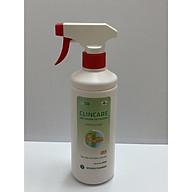 Xịt sát khuẩn tay nhanh khô và bề mặt vật dụng Clincare SH 500ml thumbnail
