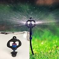 10 Béc phun mưa tưới cây phun xoay 360 độ kèm nối ren 21 thumbnail
