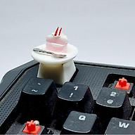 Keycap bộ dĩa bánh kem trang trí bàn phím cơ gaming. thumbnail