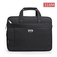 Túi xách cặp công sở đựng laptop đến 15.6inch YAJIE T07 mã 318 (Đen)_EVA.STORES thumbnail