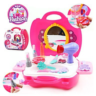 Set 21 món đồ chơi trang điểm cực xinh cho bé gái - màu sắc giao ngẫu nhiên thumbnail