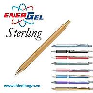 Bút ký cao cấp Pentel BL407B-C mực xanh thân bút đỏ thumbnail