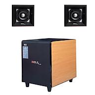 Loa sub điện siêu trầm 3 tấc & đôi loa chép rời cho dàn âm thanh Bellplus (hàng chính hãng) thumbnail