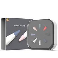Bộ Đầu Bút Silicone Cao Cấp Bảo Vệ Cho Apple Pencil 1 Apple Pencil 2 thumbnail