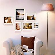 Bộ 6 Khung ảnh Treo Tường phòng khách KA603 Miễn phí phụ kiện. thumbnail