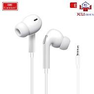 Tai nghe có dây nhét tai in ear Jack3.5 âm bass chống ồn và chống rối hàng cao cấp chính hãng dành cho iPhone Samsung OPPO VIVO HUAWEI XIAOMI Hàng Chính Hãng thumbnail