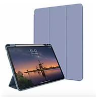 Bao Da TPU Dành Cho iPad Air Air2 Pro 9.7inch The New 2017 9.7inch 2018 Có Smart Cover Và Khe Đựng Bút Cảm Ứng - Hàng Nhập Khẩu thumbnail