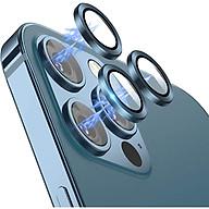 Bộ miếng dán kính cường lực bảo vệ Camera iPhone 12 Pro (6.1 inch) hiệu Wiwu Guard Lens Ring mang lại khả năng chụp hình sắc nét full HD (độ cứng 9H, chống trầy, chống chụi & vân tay, bảo vệ toàn diện) - hàng nhập khẩu thumbnail
