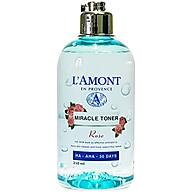 Nước Hoa Hồng Miracal Toner HA-AHA 30 DAYS Lamont En Provence (250ml) thumbnail