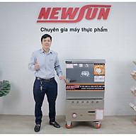 Tủ Nấu Cơm 18 Kg Gạo Mẻ Bằng Điện Gas 6 Khay Nhập Khẩu NEWSUN - Hàng Chính Hãng thumbnail