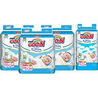 Combo 3 Gói Tã Dán Goo.n Premium Cực Đại Newborn NB70 (70 Miếng) - Tặng 1 Tã Dán Đại NB42 (42 Miếng) thumbnail