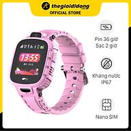 Đồng hồ định vị trẻ em Kidcare 26 hồng - Hàng chính hãng thumbnail