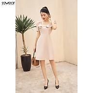 Đầm Váy Nữ Công Sở 92WEAR Thiết Kế Xòe Bèo Vai DEW0943 thumbnail